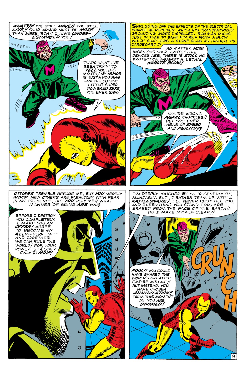 Read online Marvel Masterworks: The Invincible Iron Man comic -  Issue # TPB 2 (Part 1) - 55