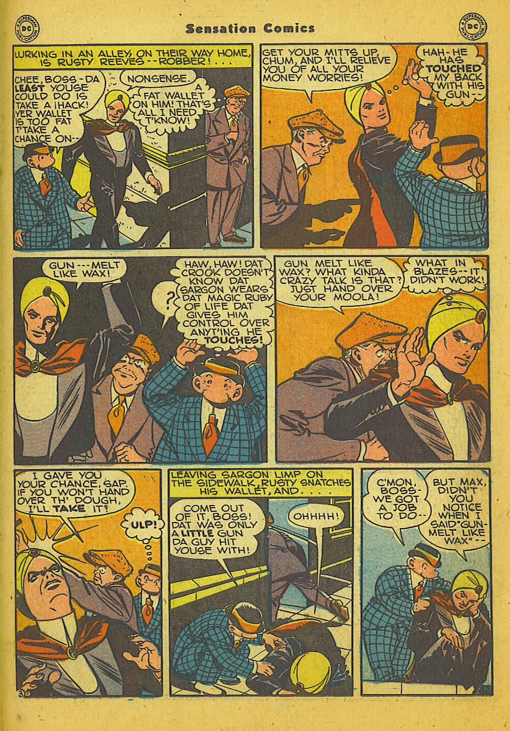 Read online Sensation (Mystery) Comics comic -  Issue #66 - 27
