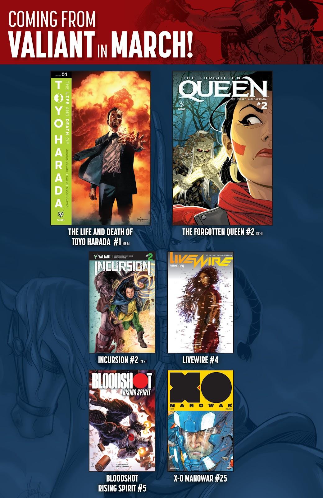 Read online X-O Manowar (2017) comic -  Issue #24 - 32