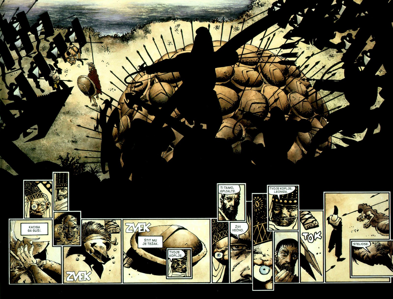 Read online 300 (2007) comic -  Issue # TPB - 78