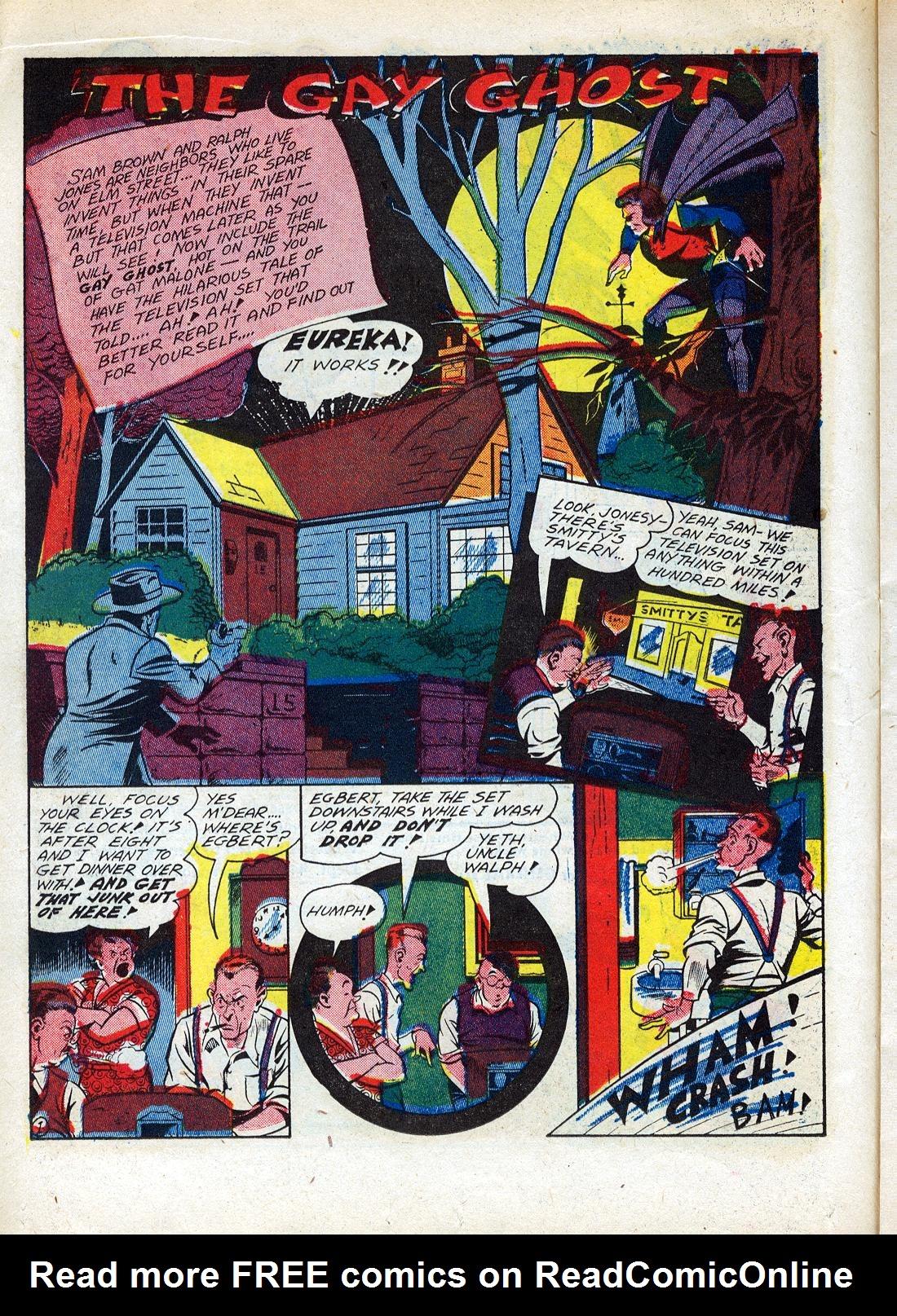 Read online Sensation (Mystery) Comics comic -  Issue #26 - 32