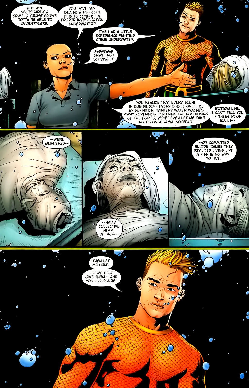 Read online Aquaman (2003) comic -  Issue #30 - 8