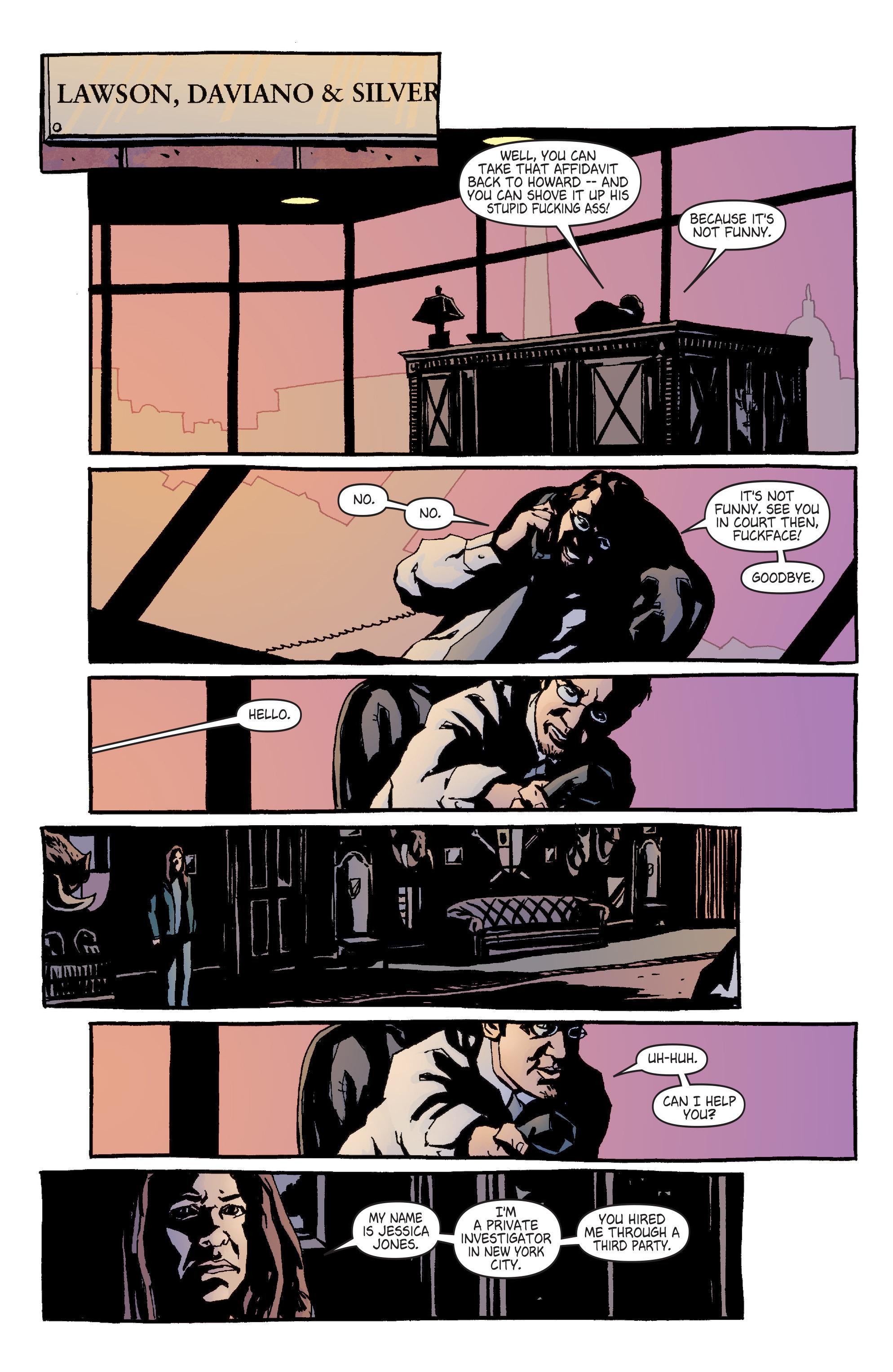 Read online Alias comic -  Issue #4 - 12