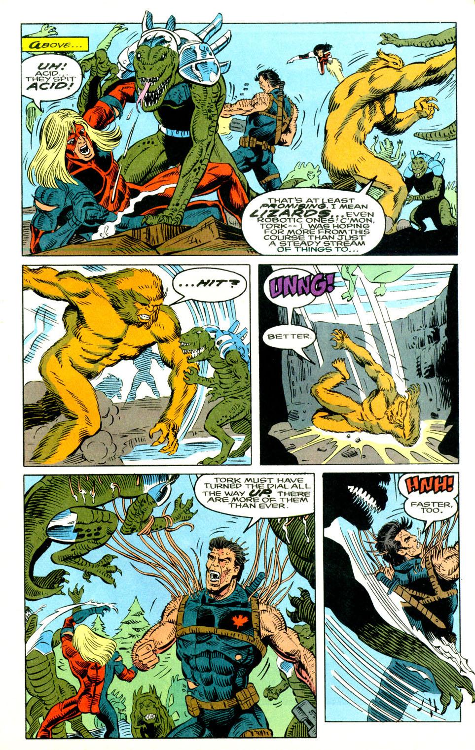 Read online Alpha Flight (1983) comic -  Issue #129 - 14