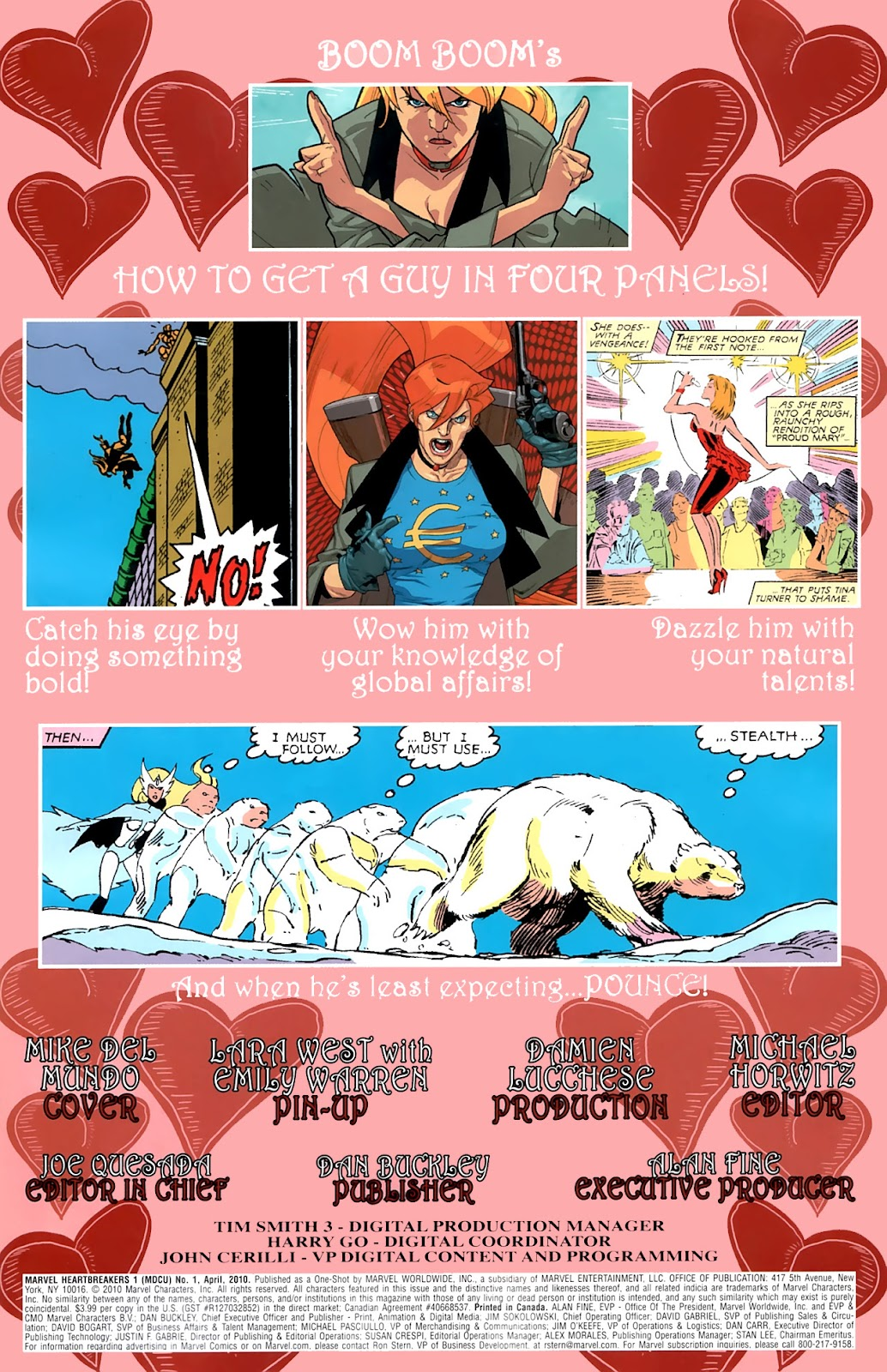 Read online Marvel Heartbreakers comic -  Issue # Full - 2