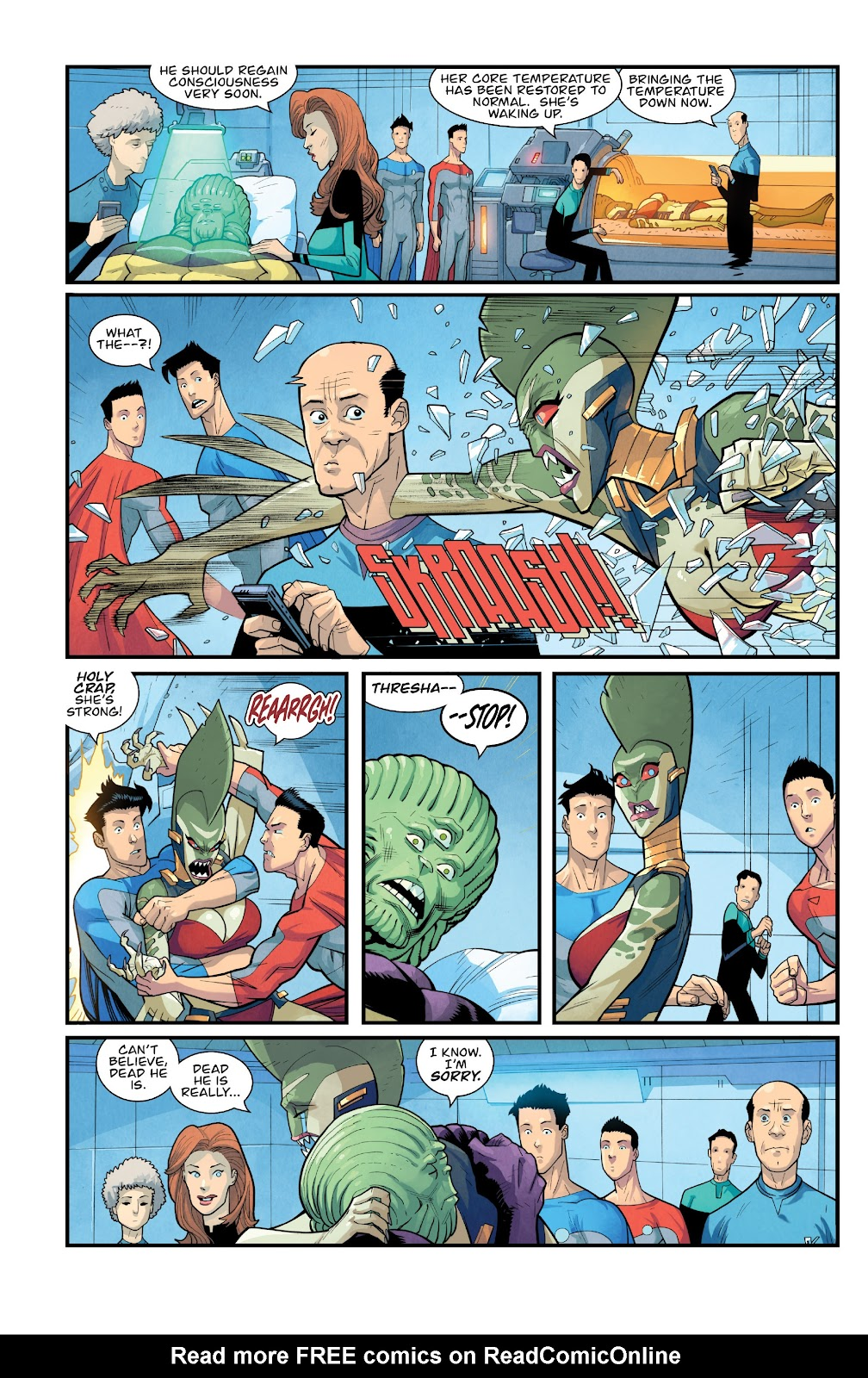 Invincible (2003) issue TPB 21 - Modern Family - Page 117