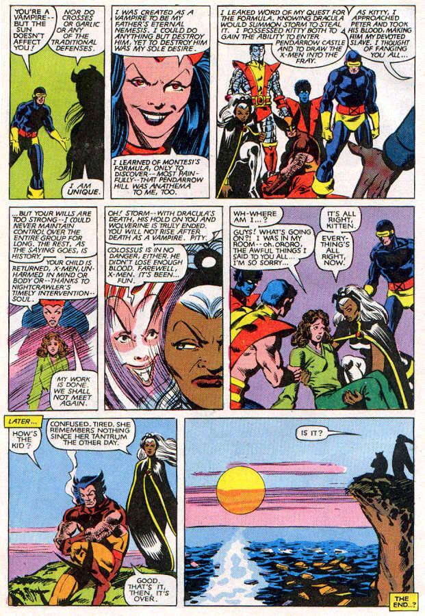 Read online Uncanny X-Men (1963) comic -  Issue # _Annual 6 - 39