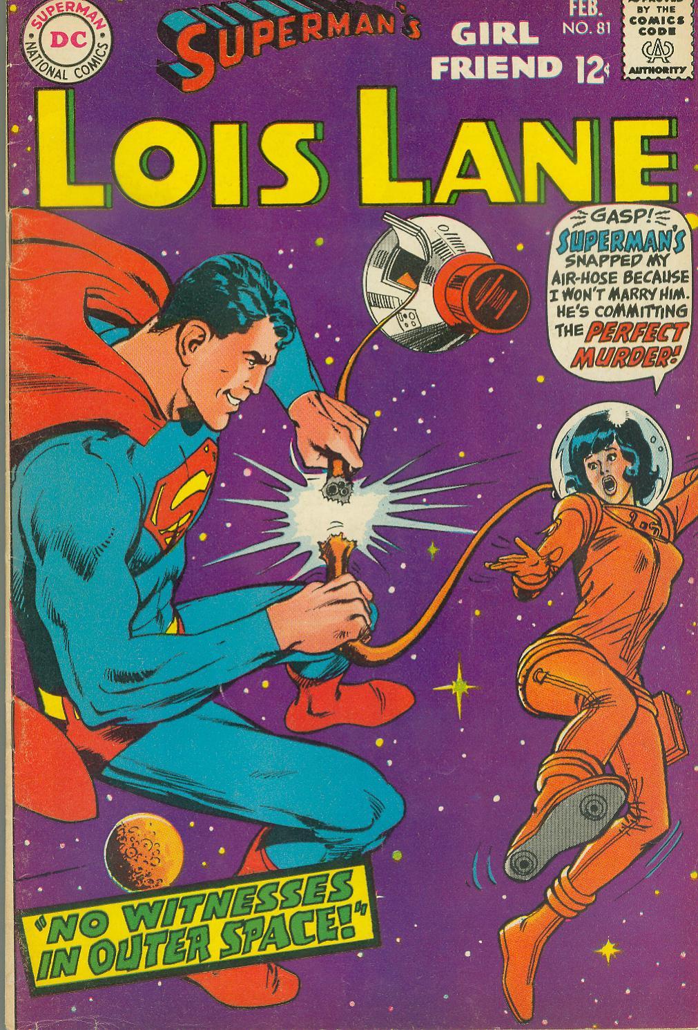 Supermans Girl Friend, Lois Lane 81 Page 1
