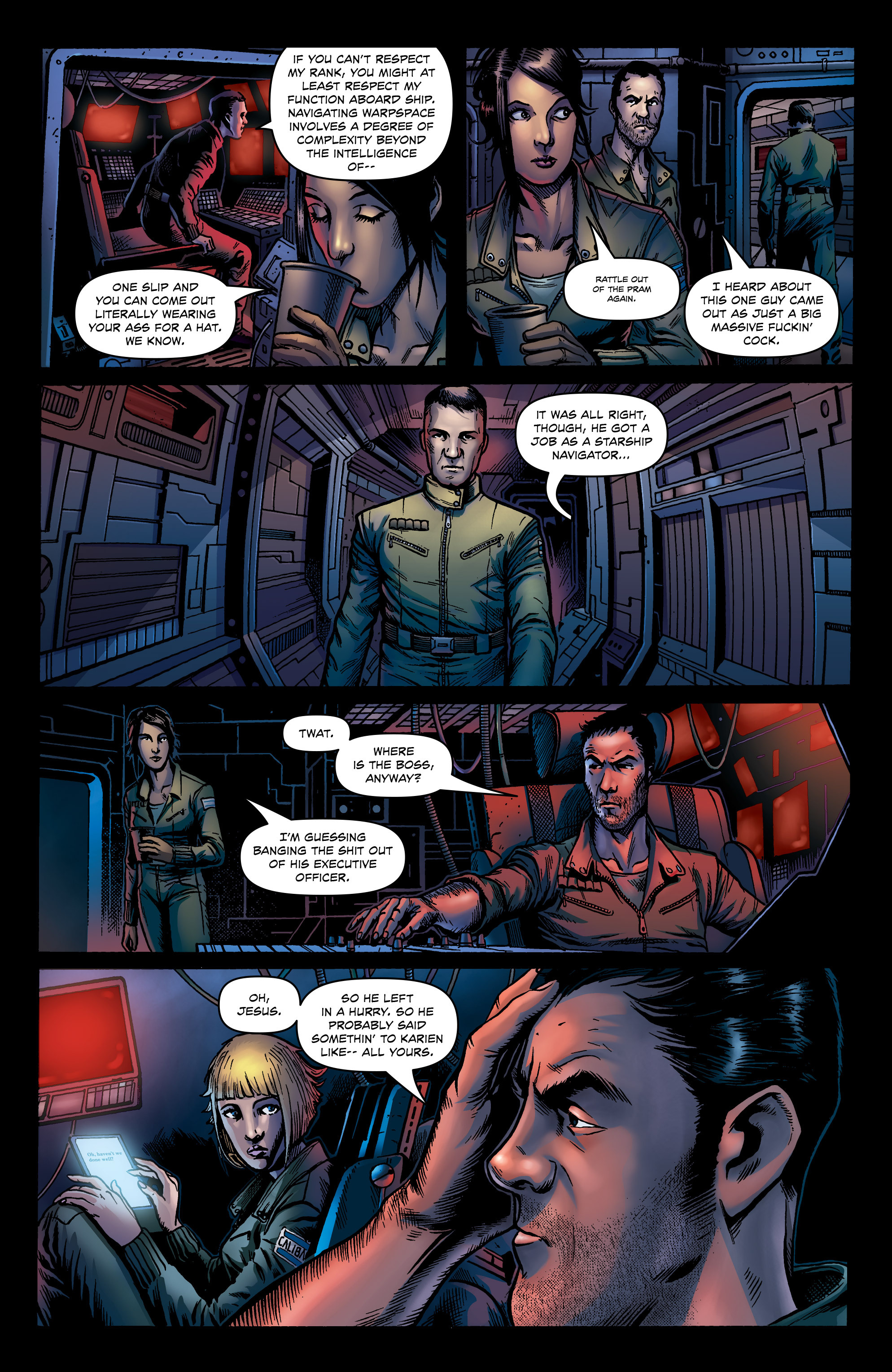 Read online Caliban comic -  Issue #1 - 14