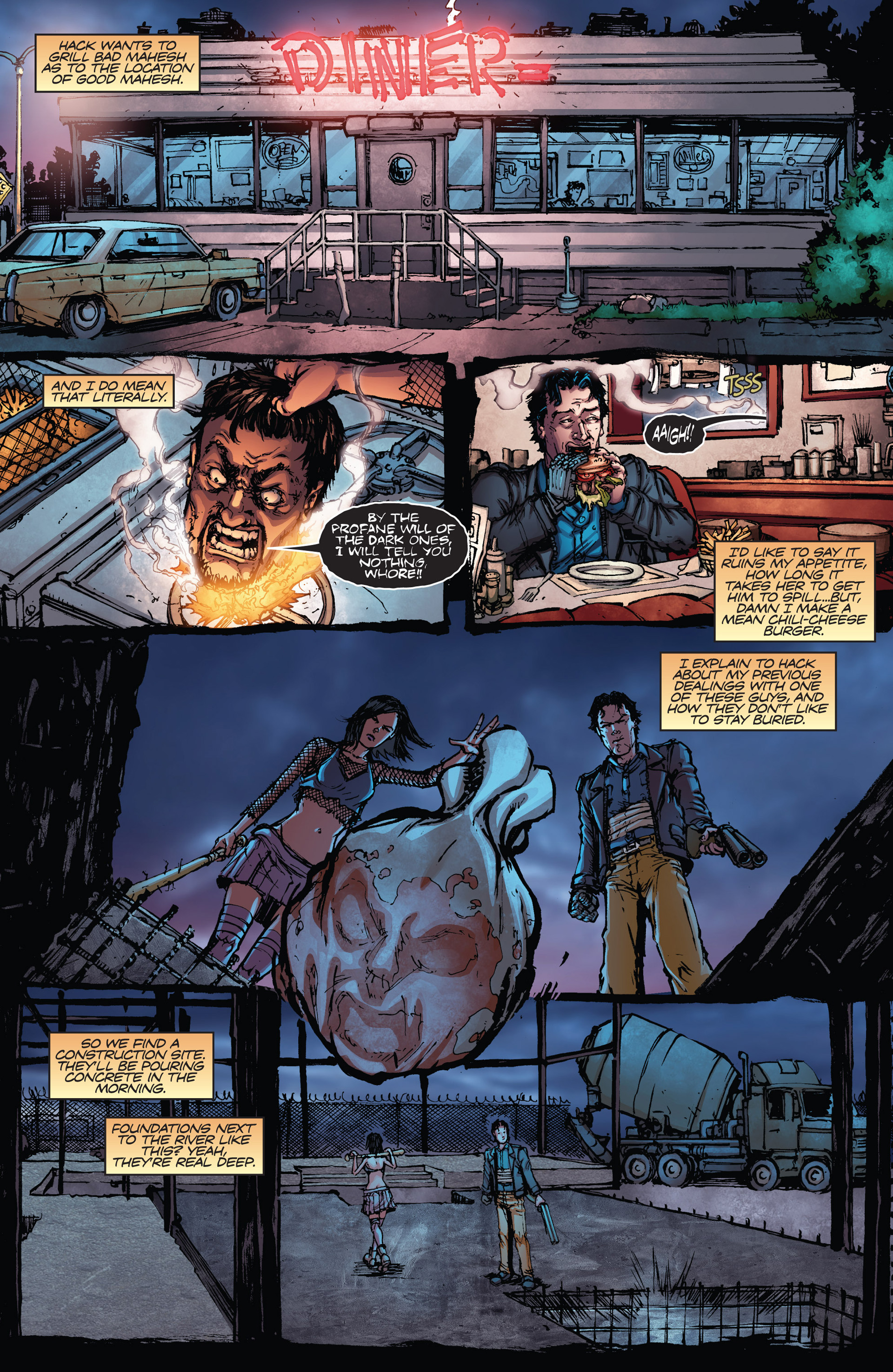 Read online Army of Darkness vs. Hack/Slash comic -  Issue #2 - 19
