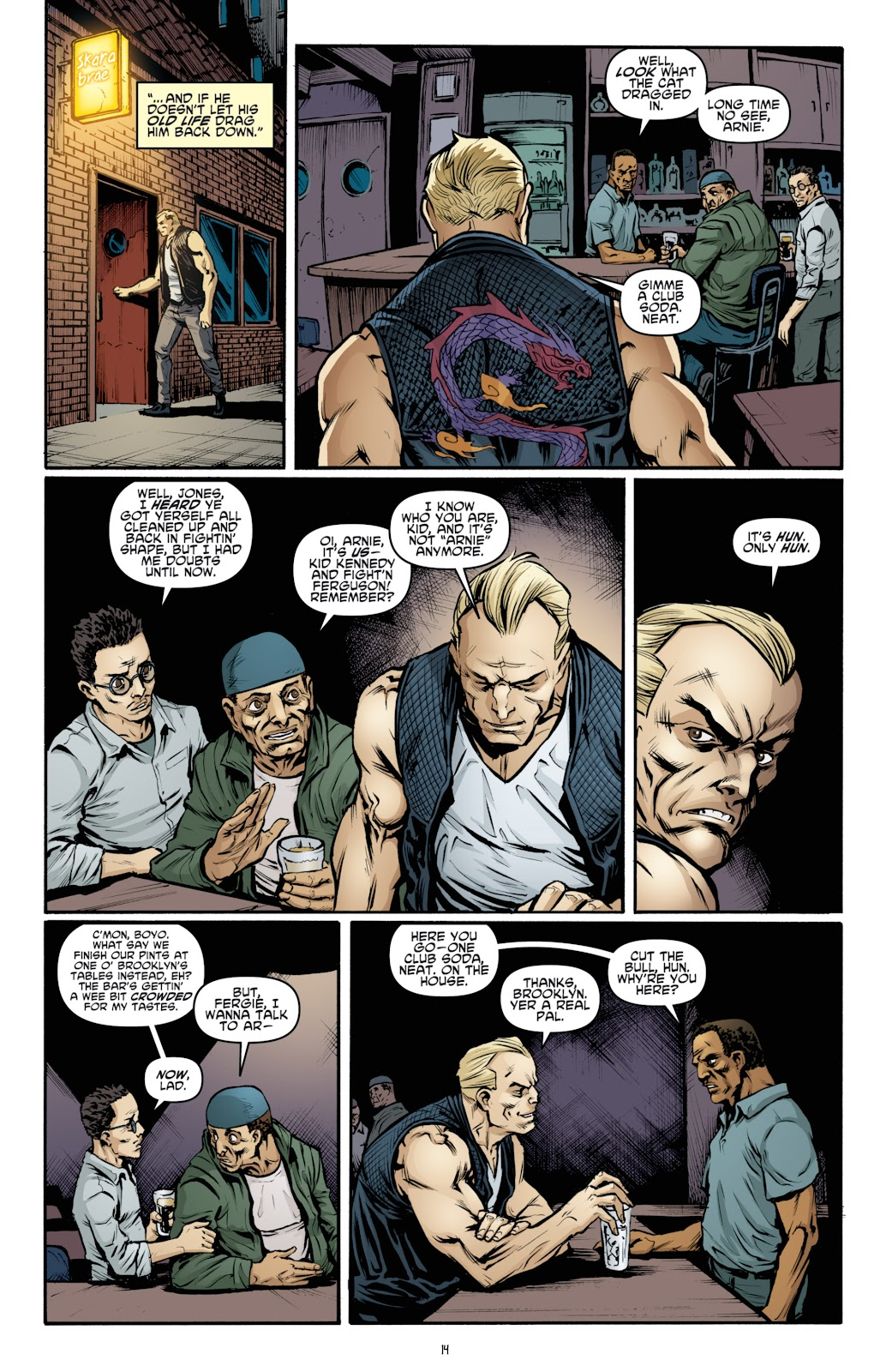 Read online Teenage Mutant Ninja Turtles: The IDW Collection comic -  Issue # TPB 4 (Part 3) - 21