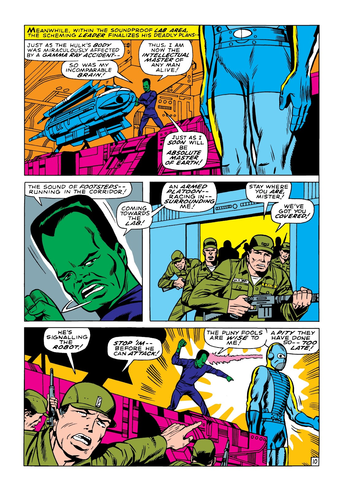 Read online Marvel Masterworks: The Incredible Hulk comic -  Issue # TPB 5 (Part 2) - 21