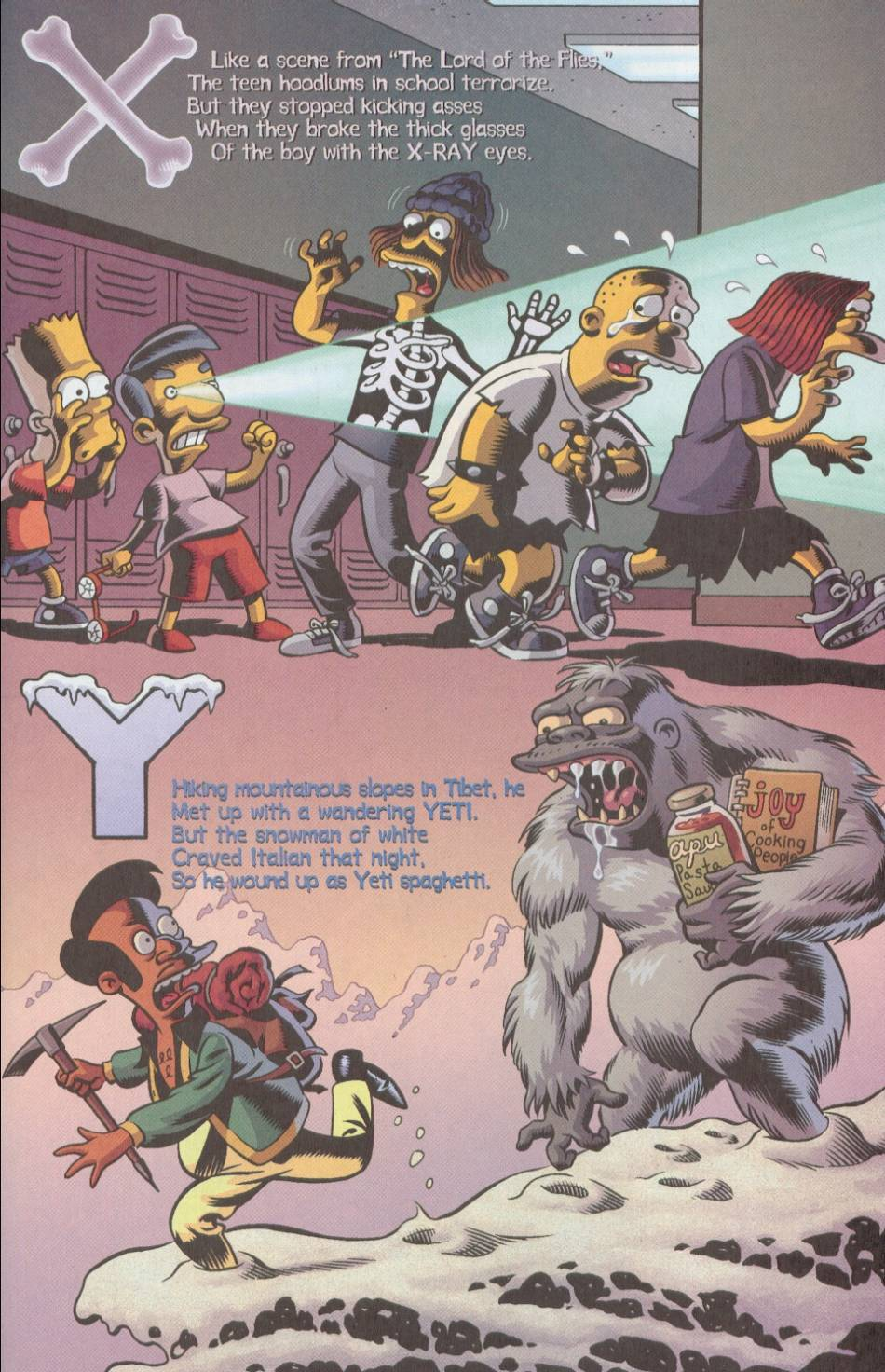 Read online Treehouse of Horror comic -  Issue #8 - 44