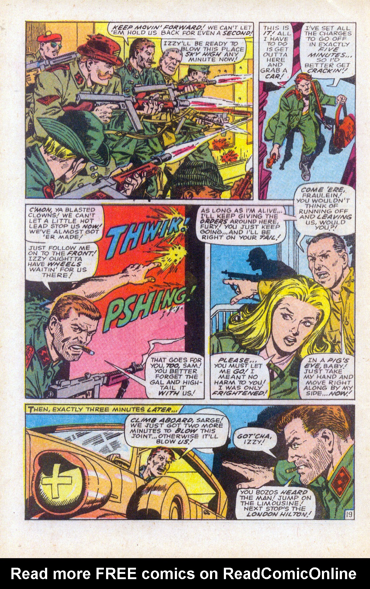 Read online Sgt. Fury comic -  Issue #61 - 28