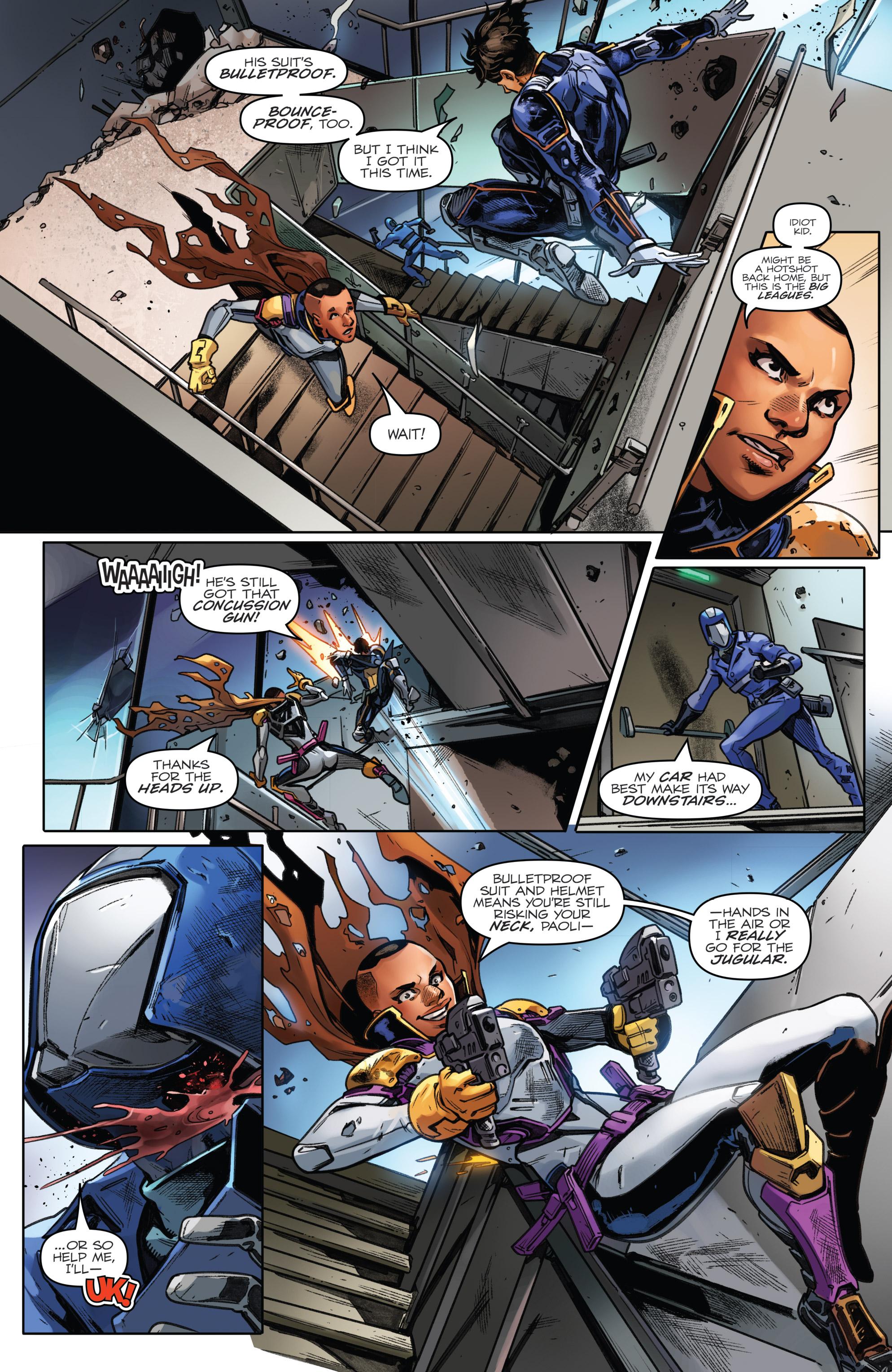 Read online Revolutionaries comic -  Issue #5 - 20