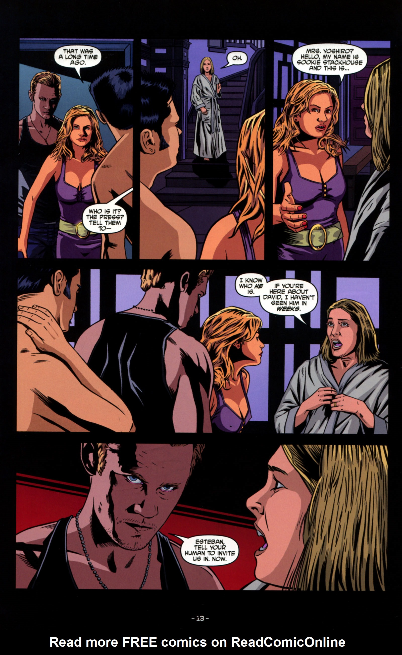 Read online True Blood: Tainted Love comic -  Issue #4 - 15