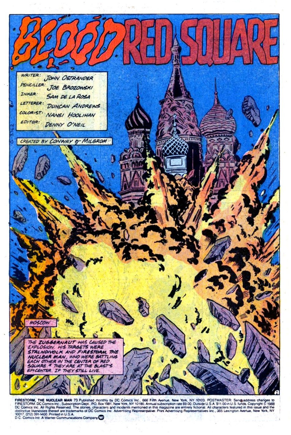 Firestorm, the Nuclear Man issue 73 - Page 2