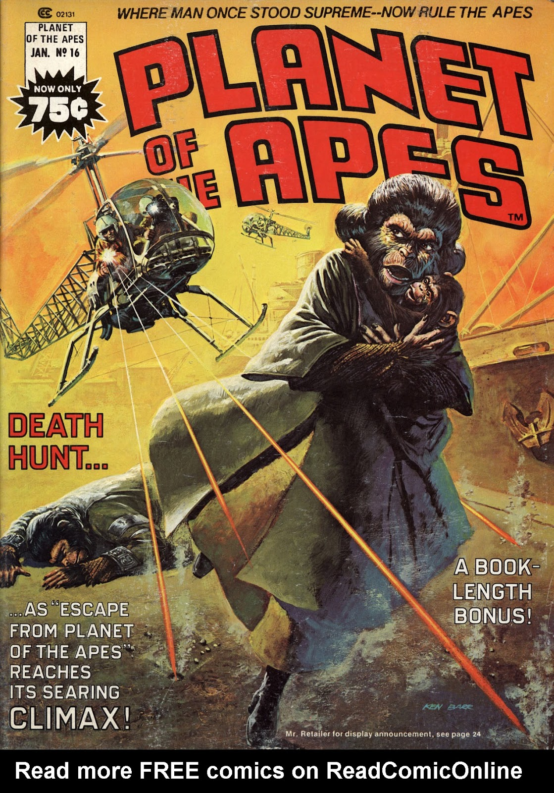 Planet of the Apes (1974) 16 Page 1