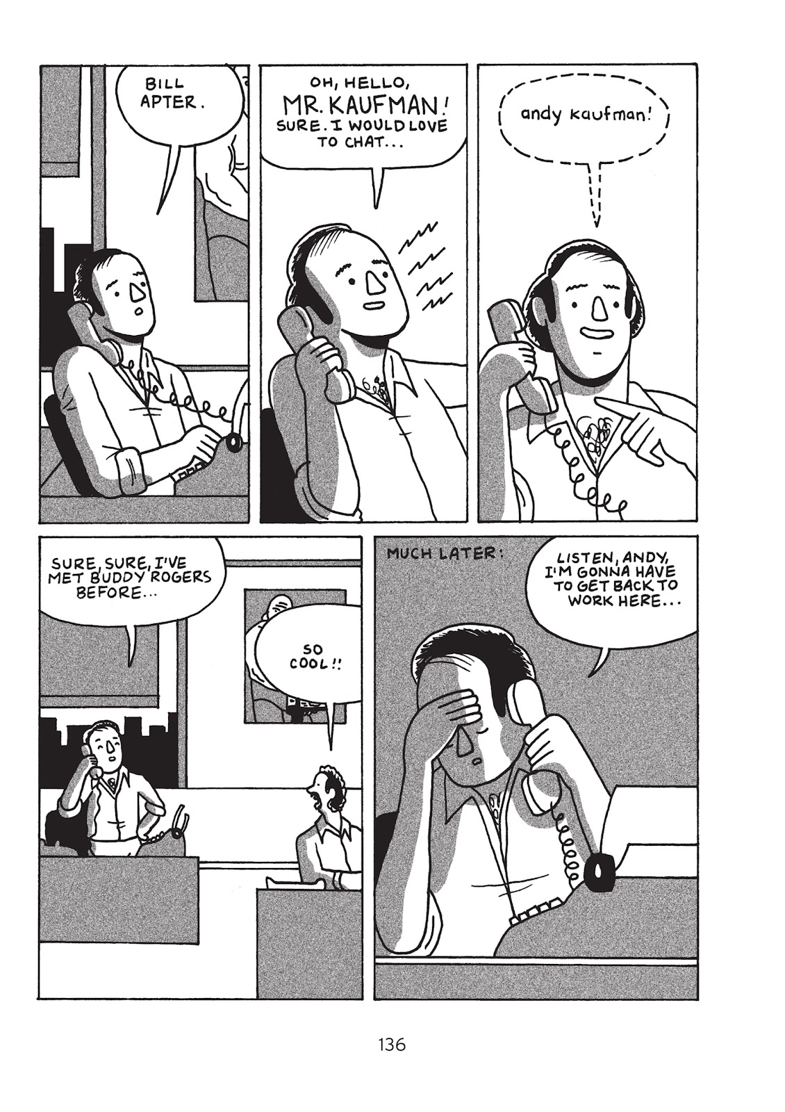 Read online Is This Guy For Real?: The Unbelievable Andy Kaufman comic -  Issue # TPB (Part 2) - 42