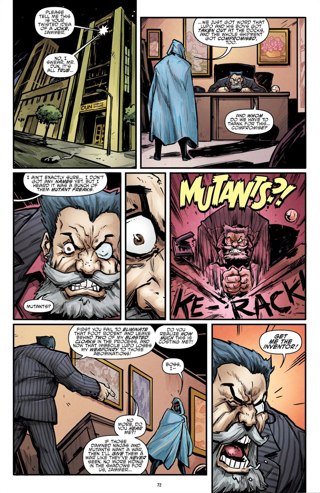 Read online Teenage Mutant Ninja Turtles: The IDW Collection comic -  Issue # TPB 7 (Part 1) - 71