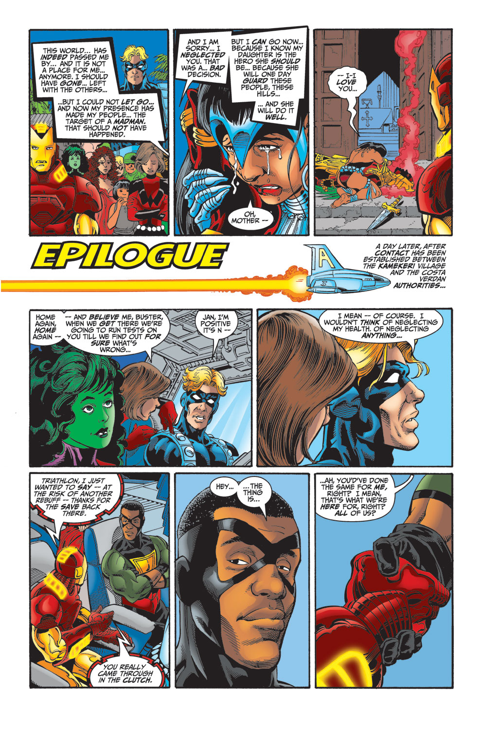 Read online Avengers (1998) comic -  Issue #30 - 22