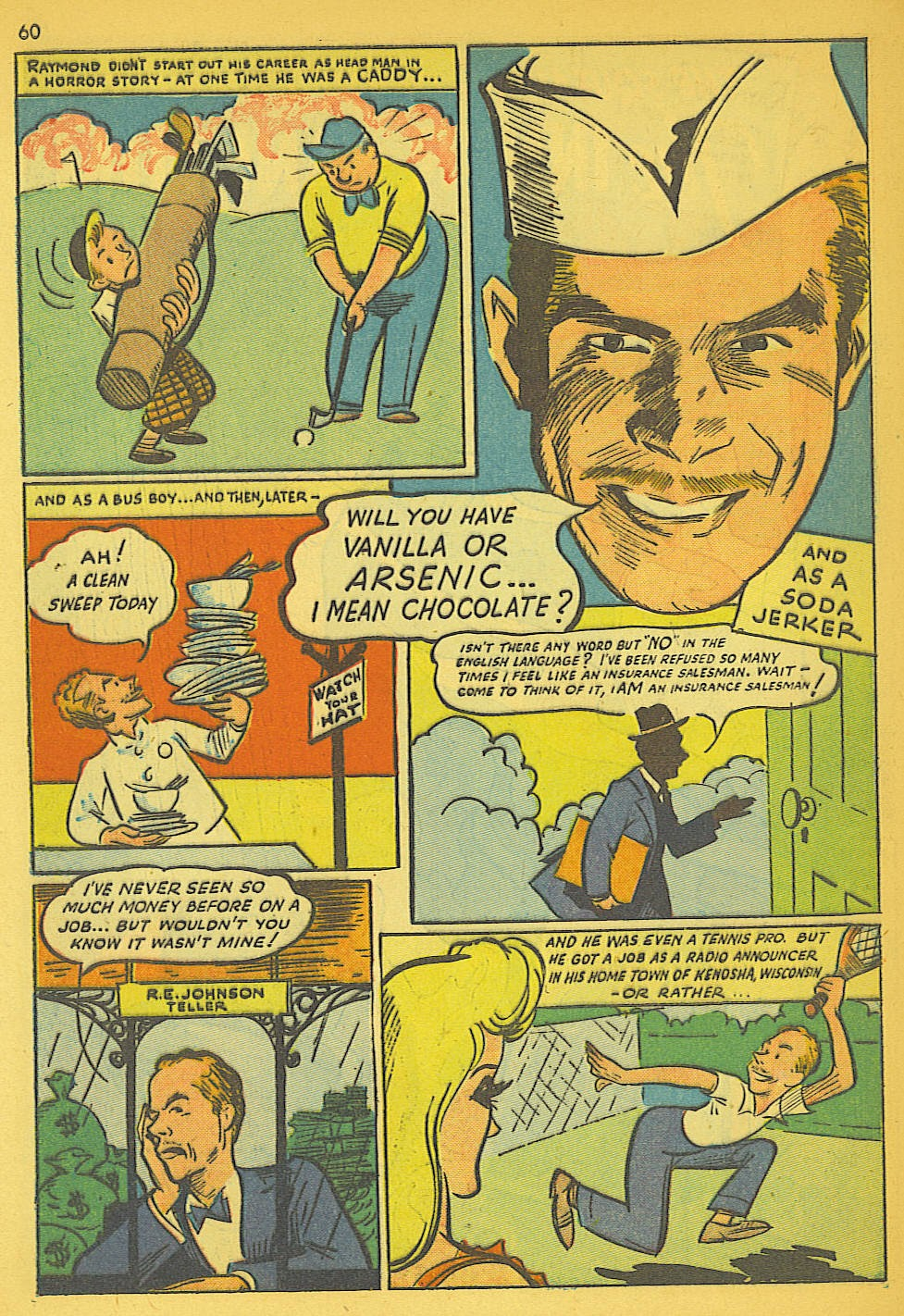 Read online Super-Magician Comics comic -  Issue #19 - 52