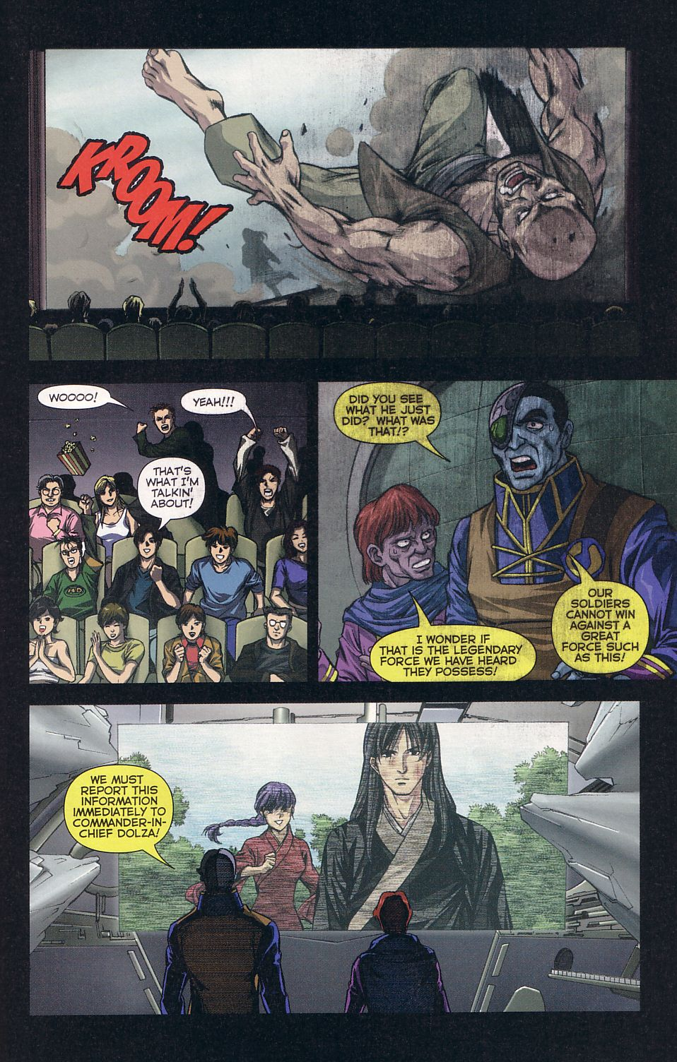 Read online Robotech: Love and War comic -  Issue #6 - 21