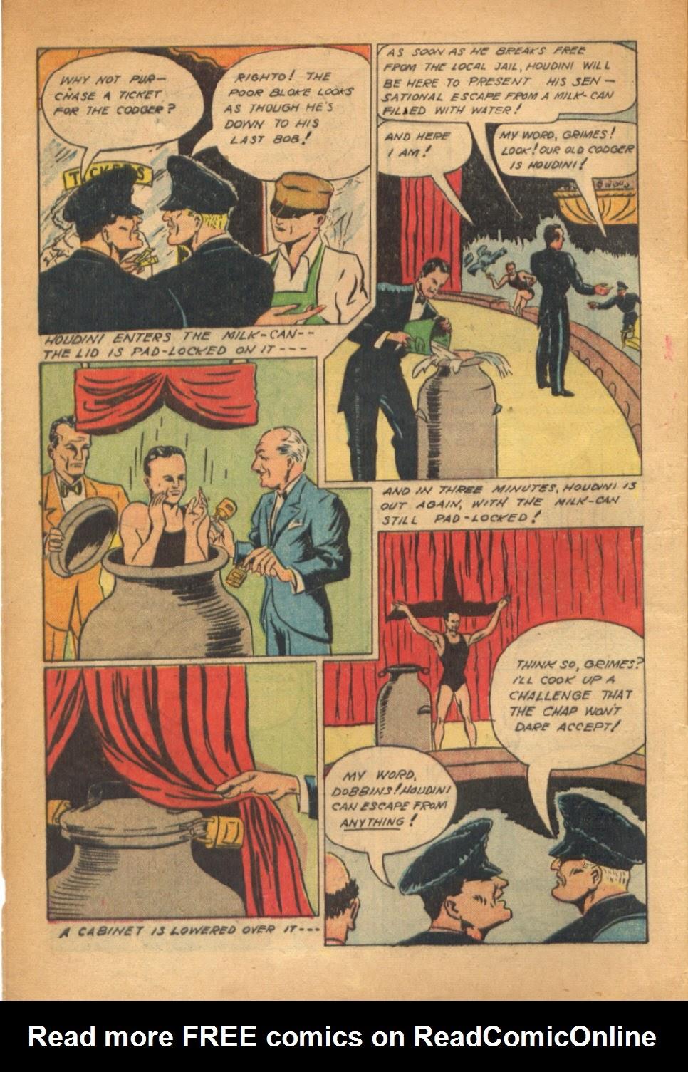 Read online Super-Magician Comics comic -  Issue #54 - 5