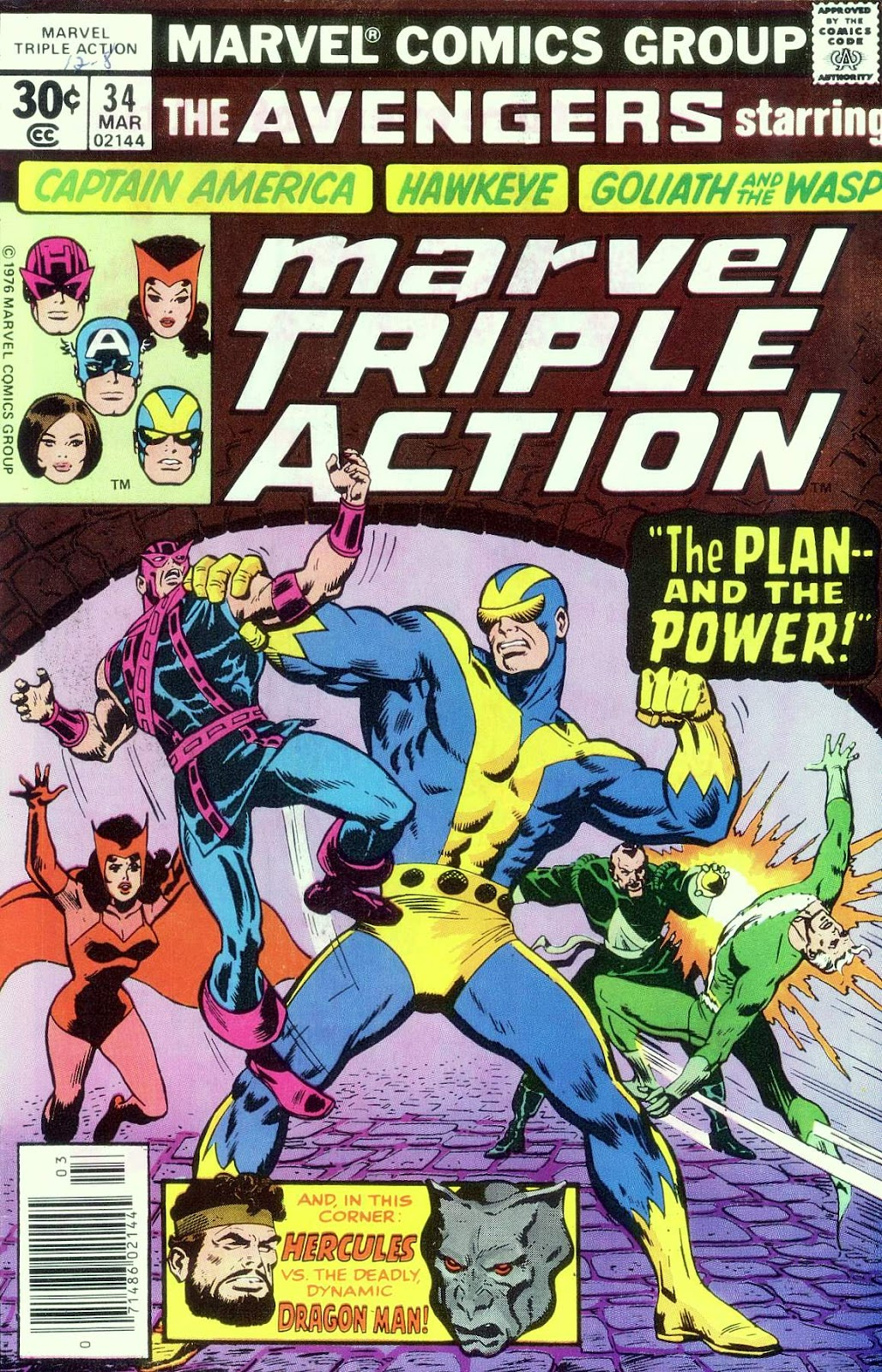 Marvel Triple Action (1972) issue 34 - Page 1