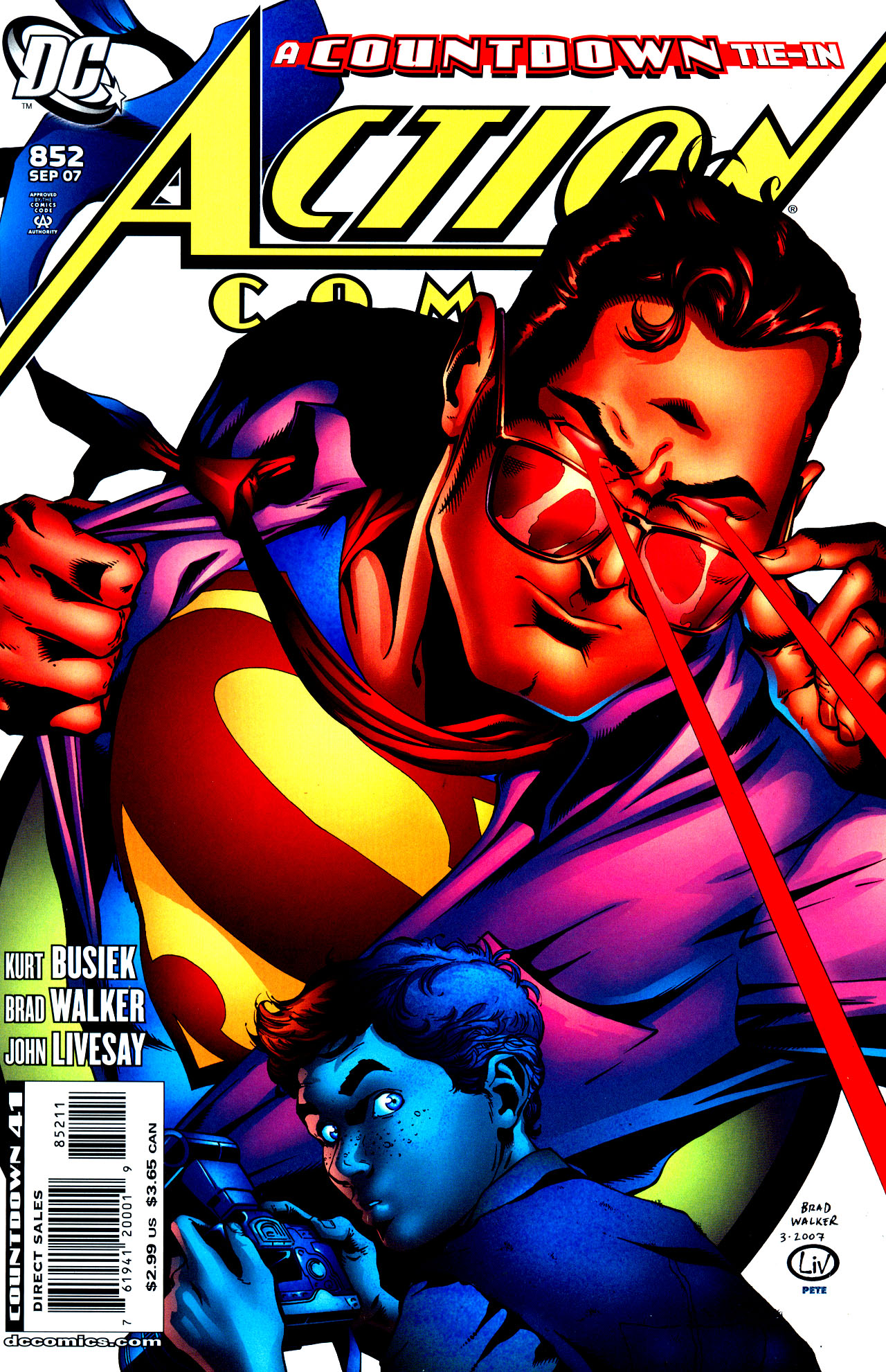 Read online Action Comics (1938) comic -  Issue #852 - 1