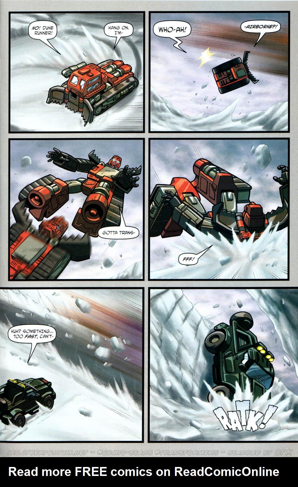 Read online Transformers Armada comic -  Issue #12 - 19