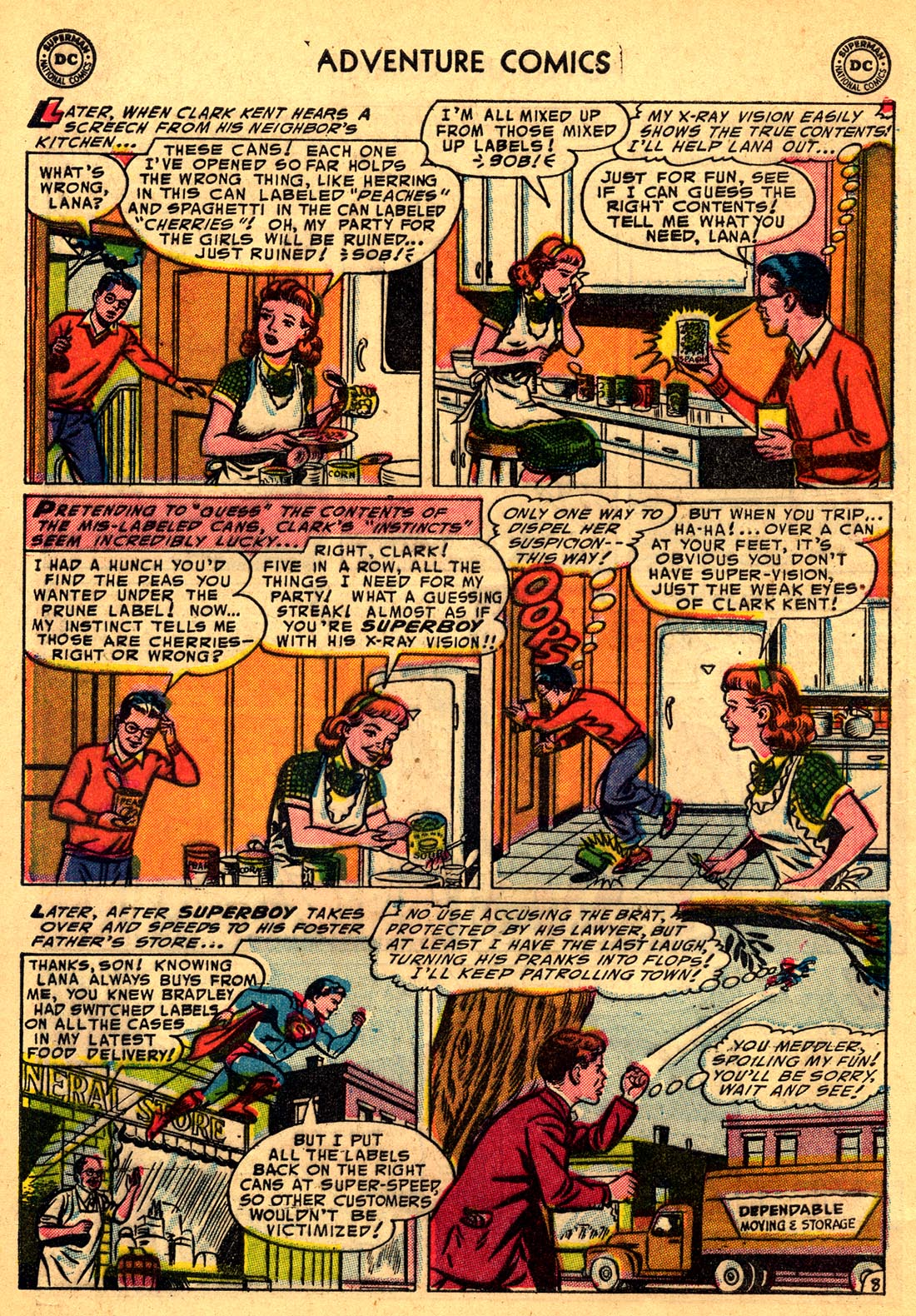 Read online Adventure Comics (1938) comic -  Issue #204 - 10