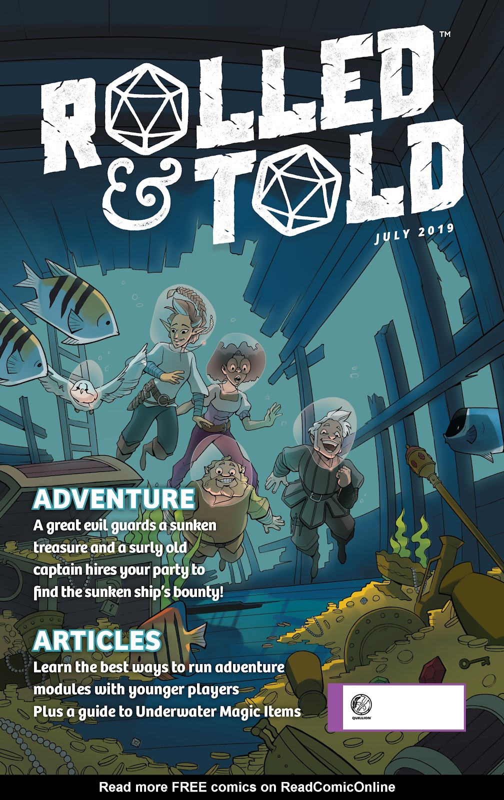 Read online Rolled & Told comic -  Issue #11 - 1