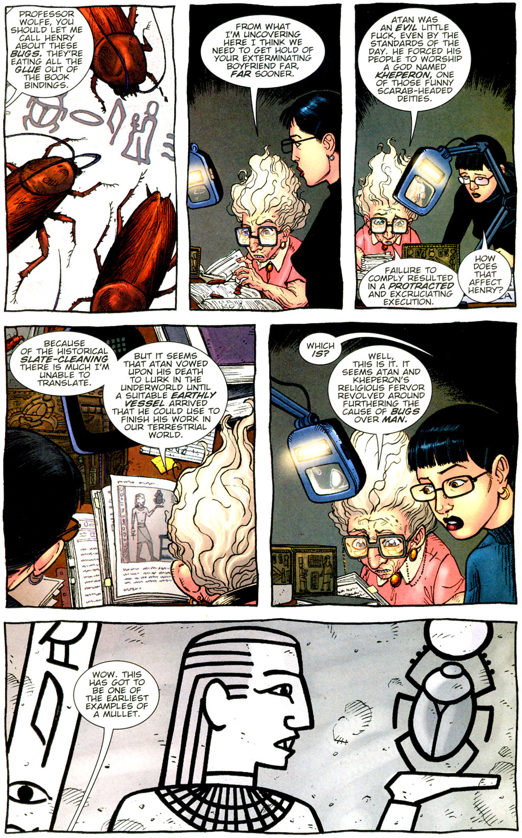 Read online The Exterminators comic -  Issue #9 - 20