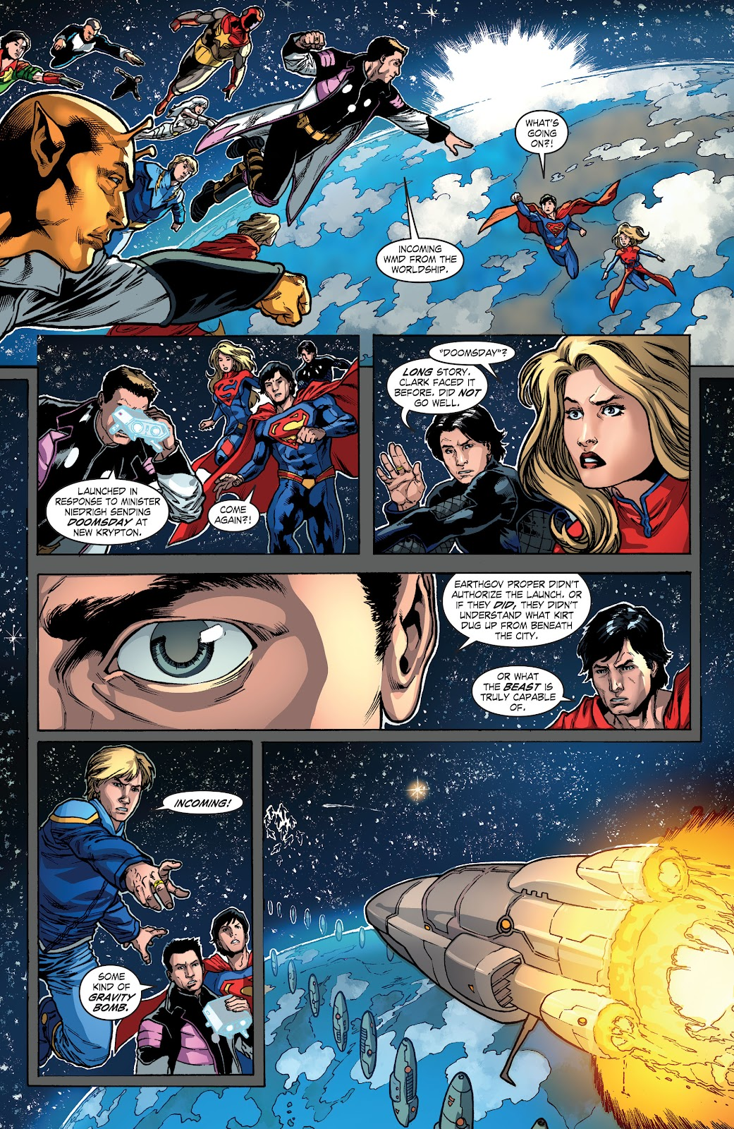 Read online Smallville Season 11 [II] comic -  Issue # TPB 4 - 81