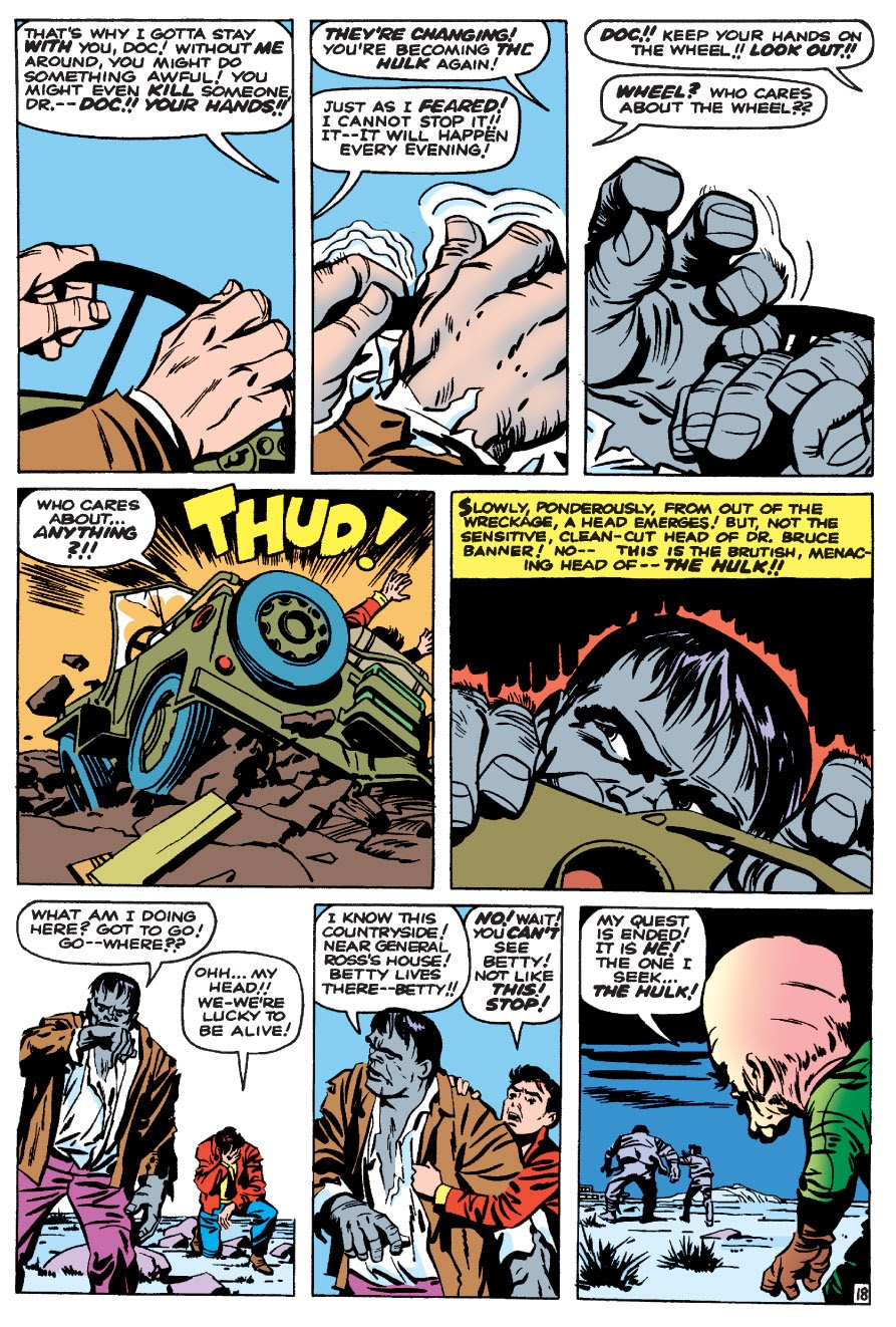 Read online Marvel Masterworks: The Incredible Hulk comic -  Issue # TPB 1 (Part 1) - 21