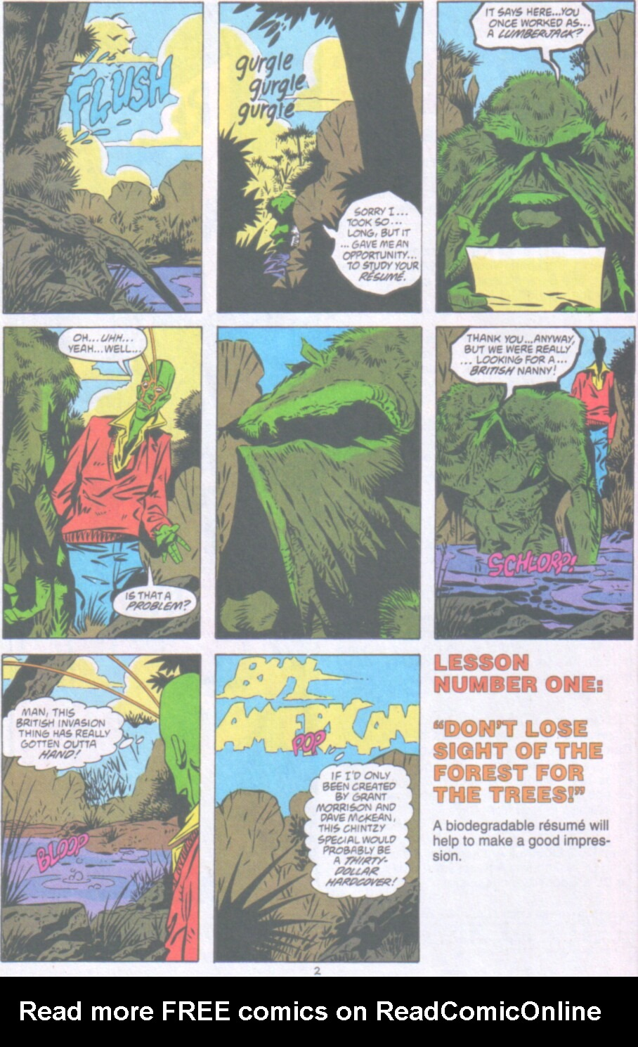 Read online Ambush Bug Nothing Special comic -  Issue # Full - 3