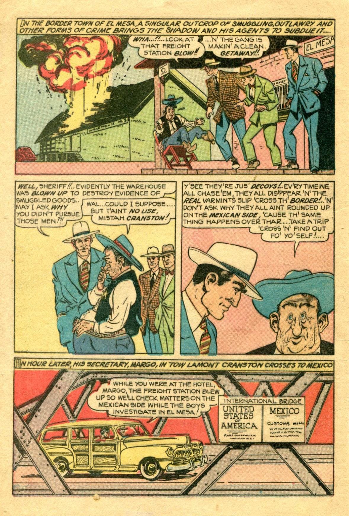 Read online Shadow Comics comic -  Issue #75 - 3