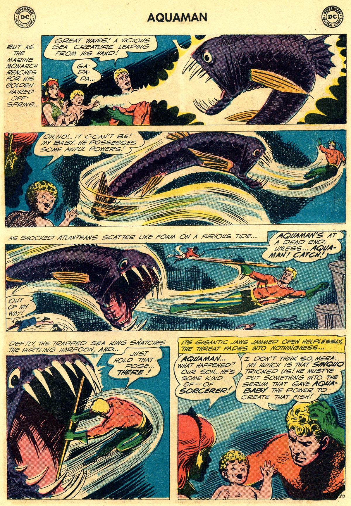 Read online Aquaman (1962) comic -  Issue #23 - 27