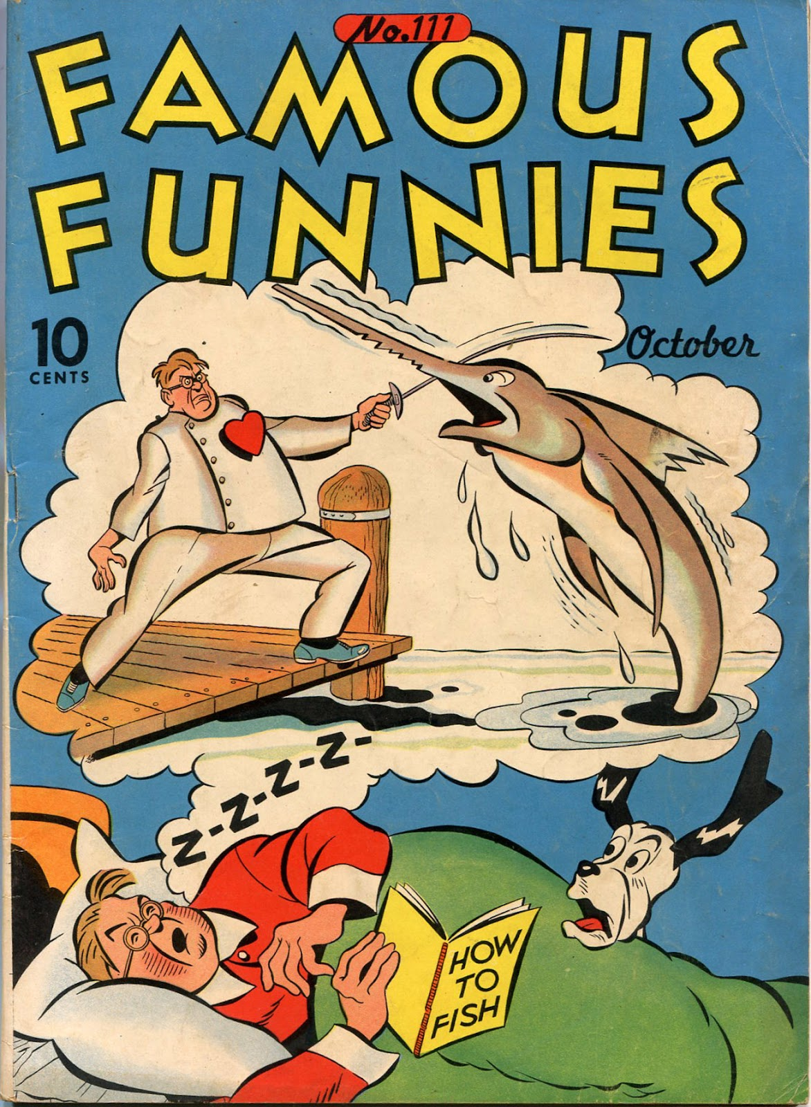 Read online Famous Funnies comic -  Issue #111 - 1