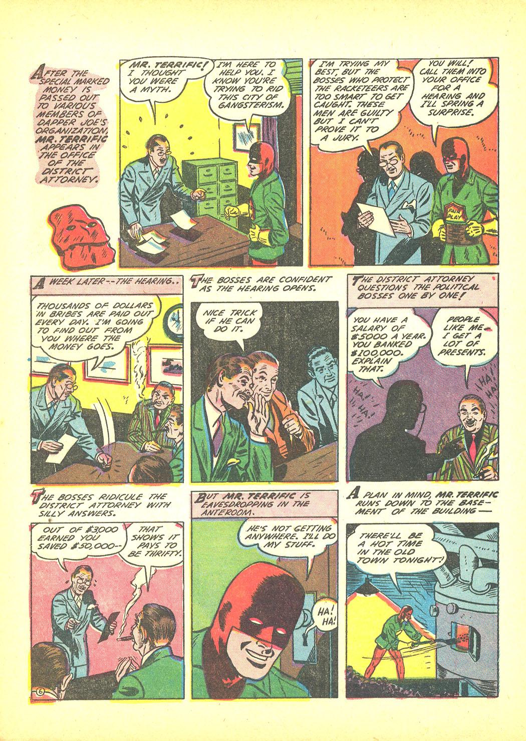 Read online Sensation (Mystery) Comics comic -  Issue #4 - 30