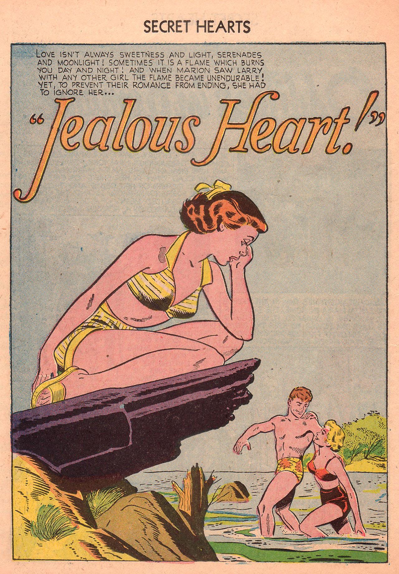 Read online Secret Hearts comic -  Issue #23 - 26