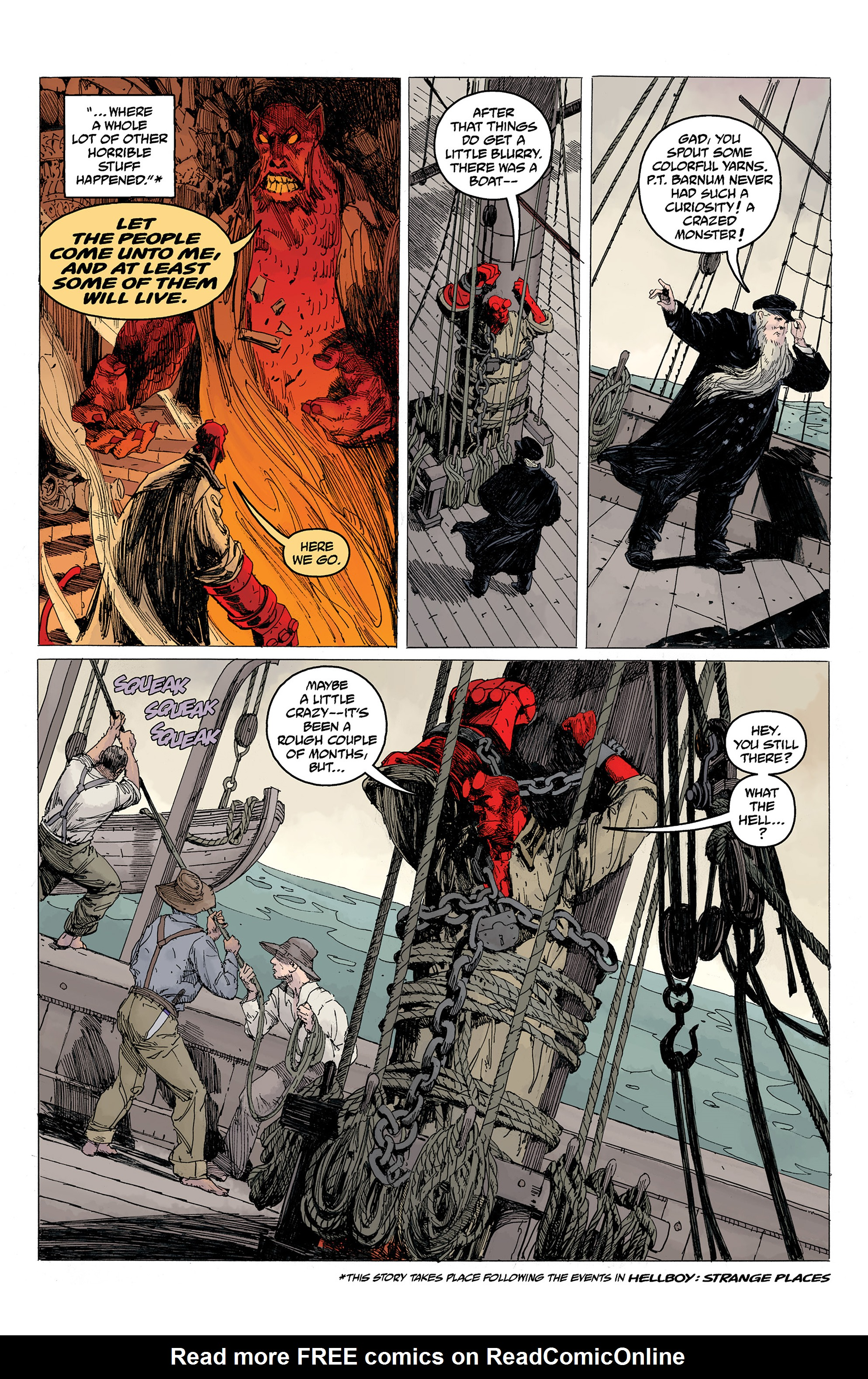 Read online Hellboy: Into the Silent Sea comic -  Issue # Full - 20