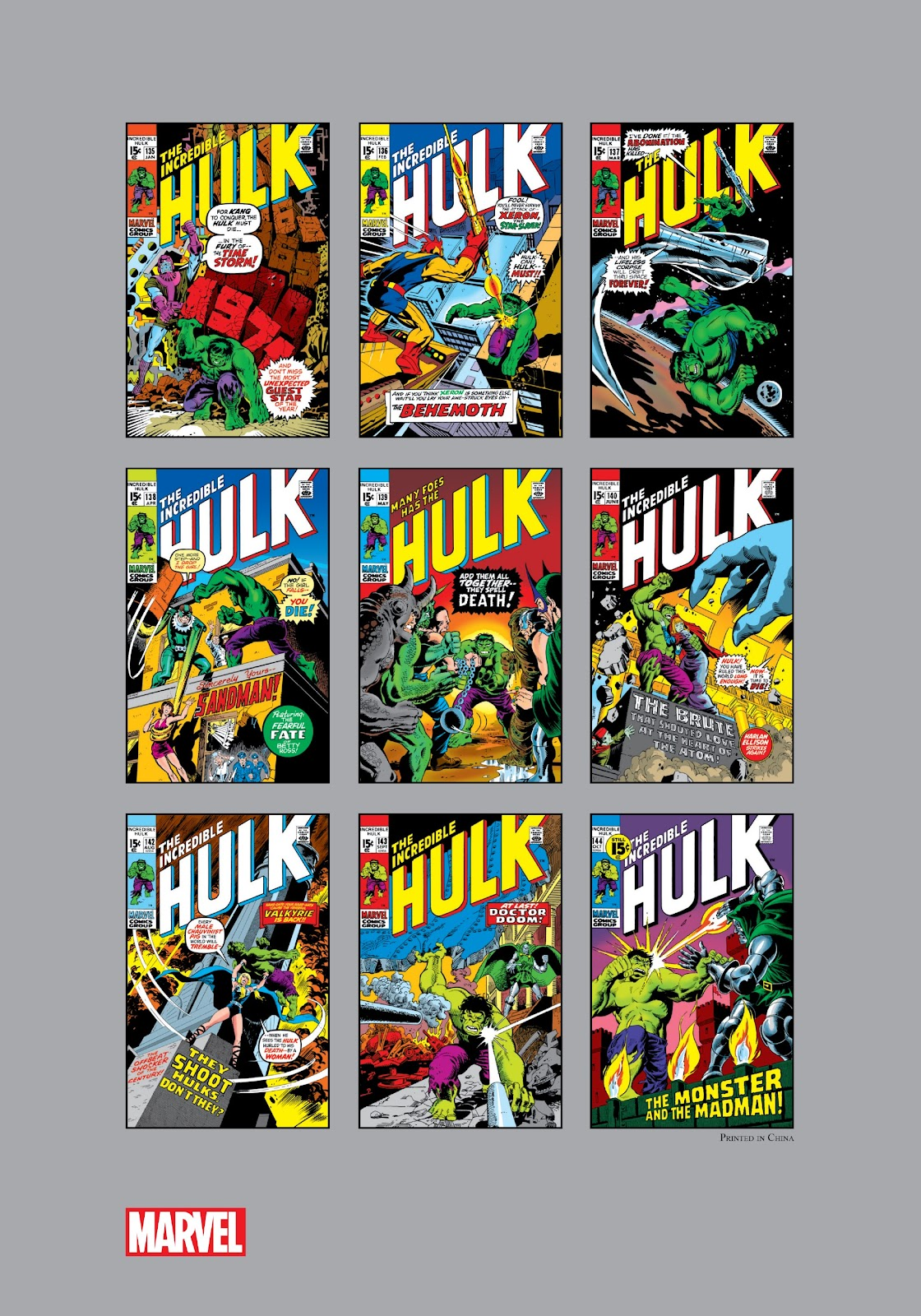 Read online Marvel Masterworks: The Incredible Hulk comic -  Issue # TPB 7 (Part 3) - 54