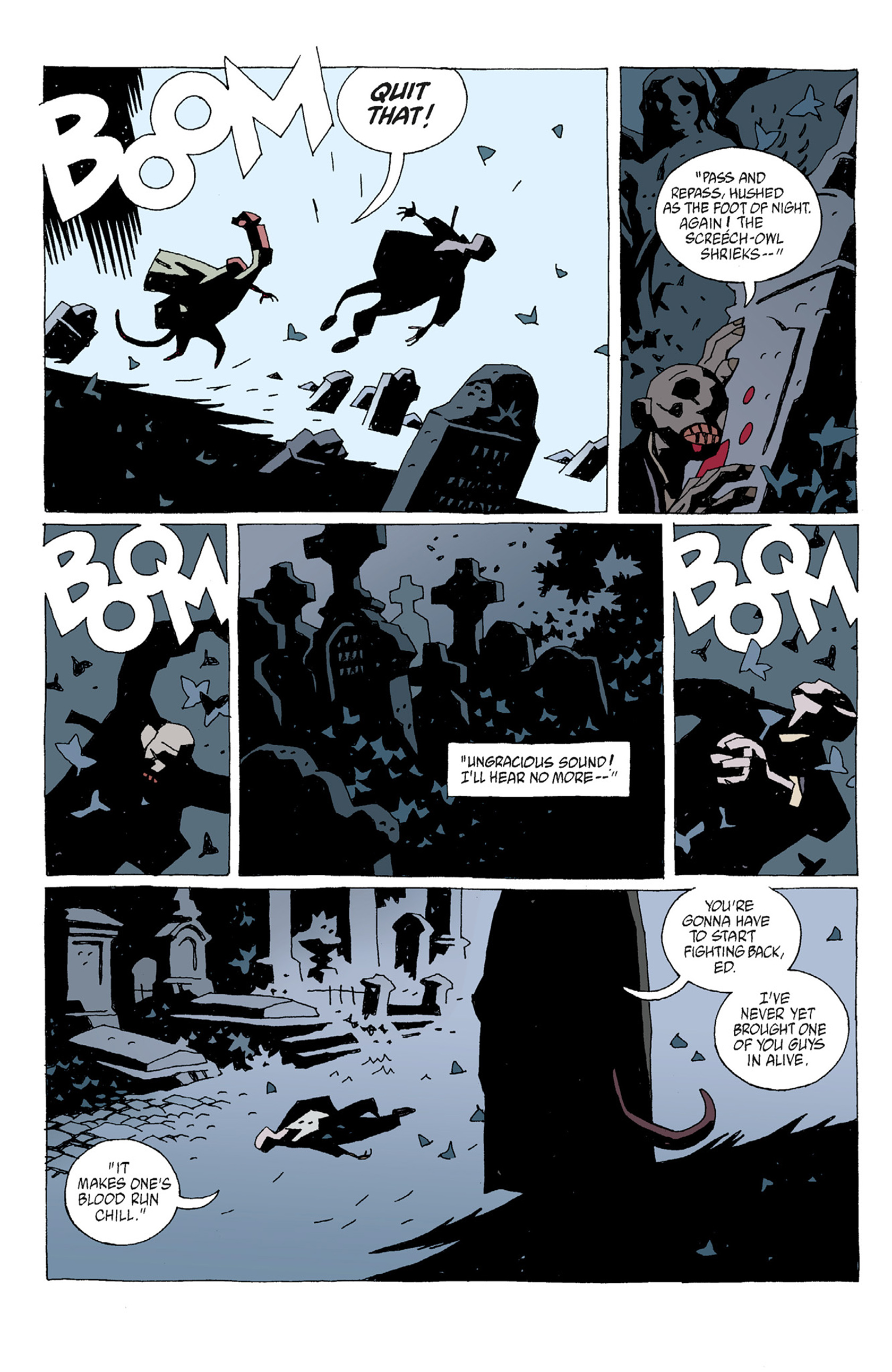 Read online Hellboy: The Troll Witch and Others comic -  Issue # TPB - 76