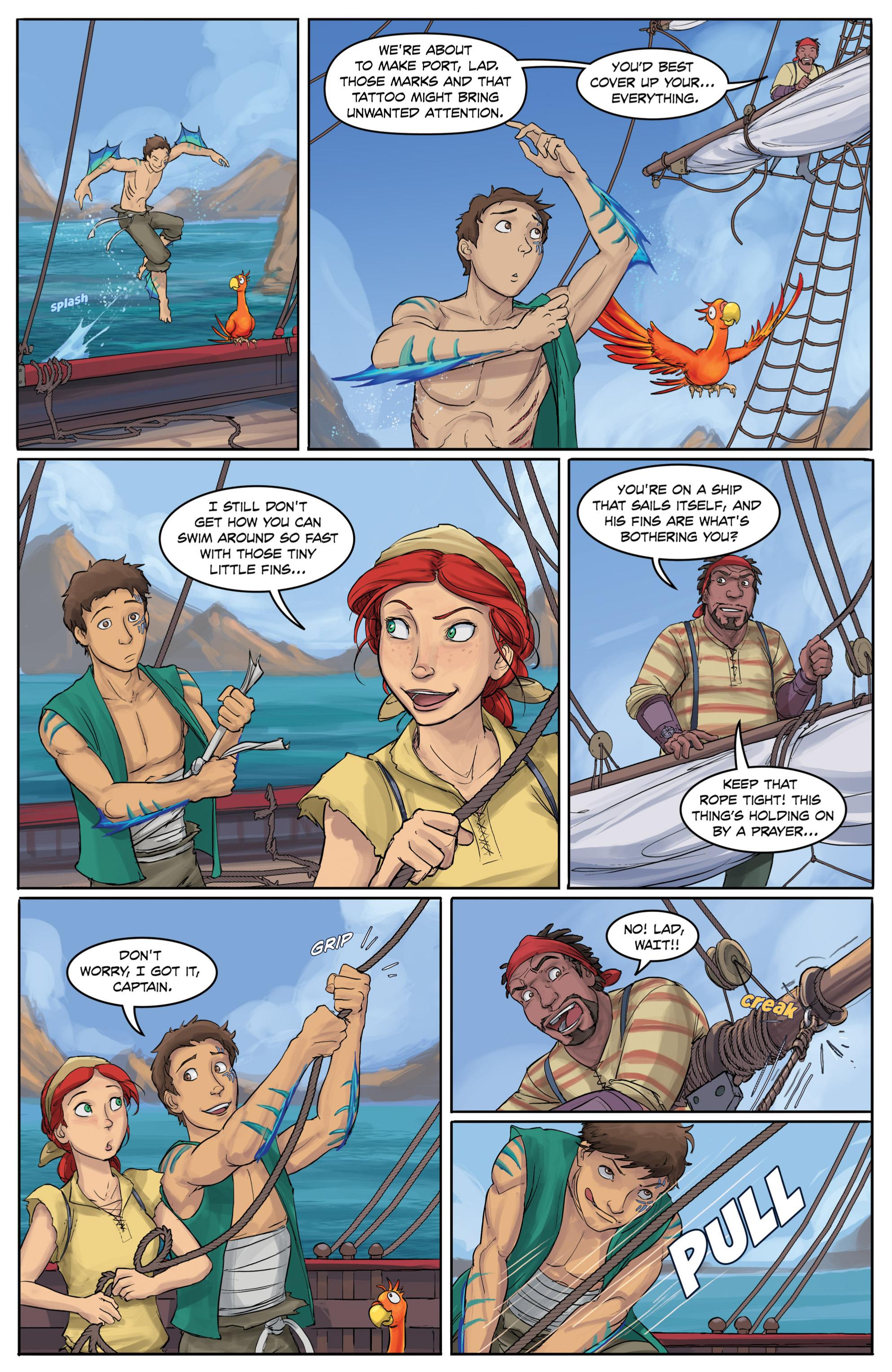 Read online Anne Bonnie comic -  Issue #4 - 7