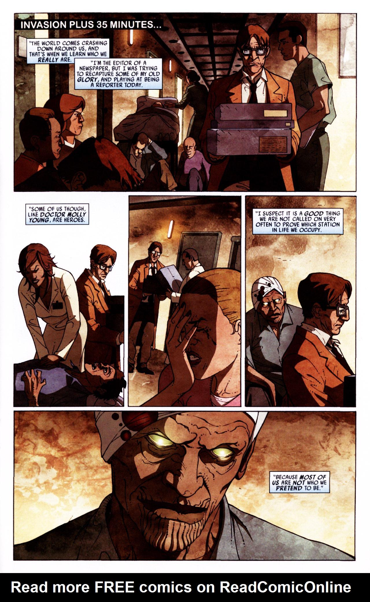 Read online Secret Invasion: Front Line comic -  Issue #2 - 2