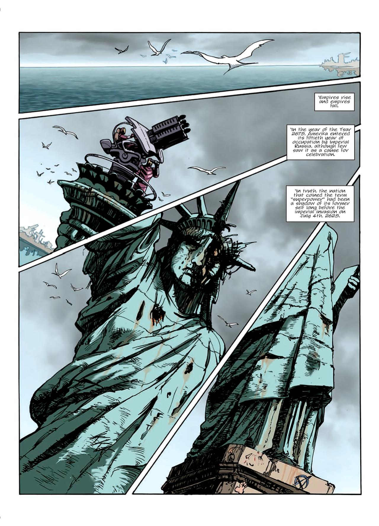 Read online Nikolai Dante comic -  Issue # TPB 9 - 7