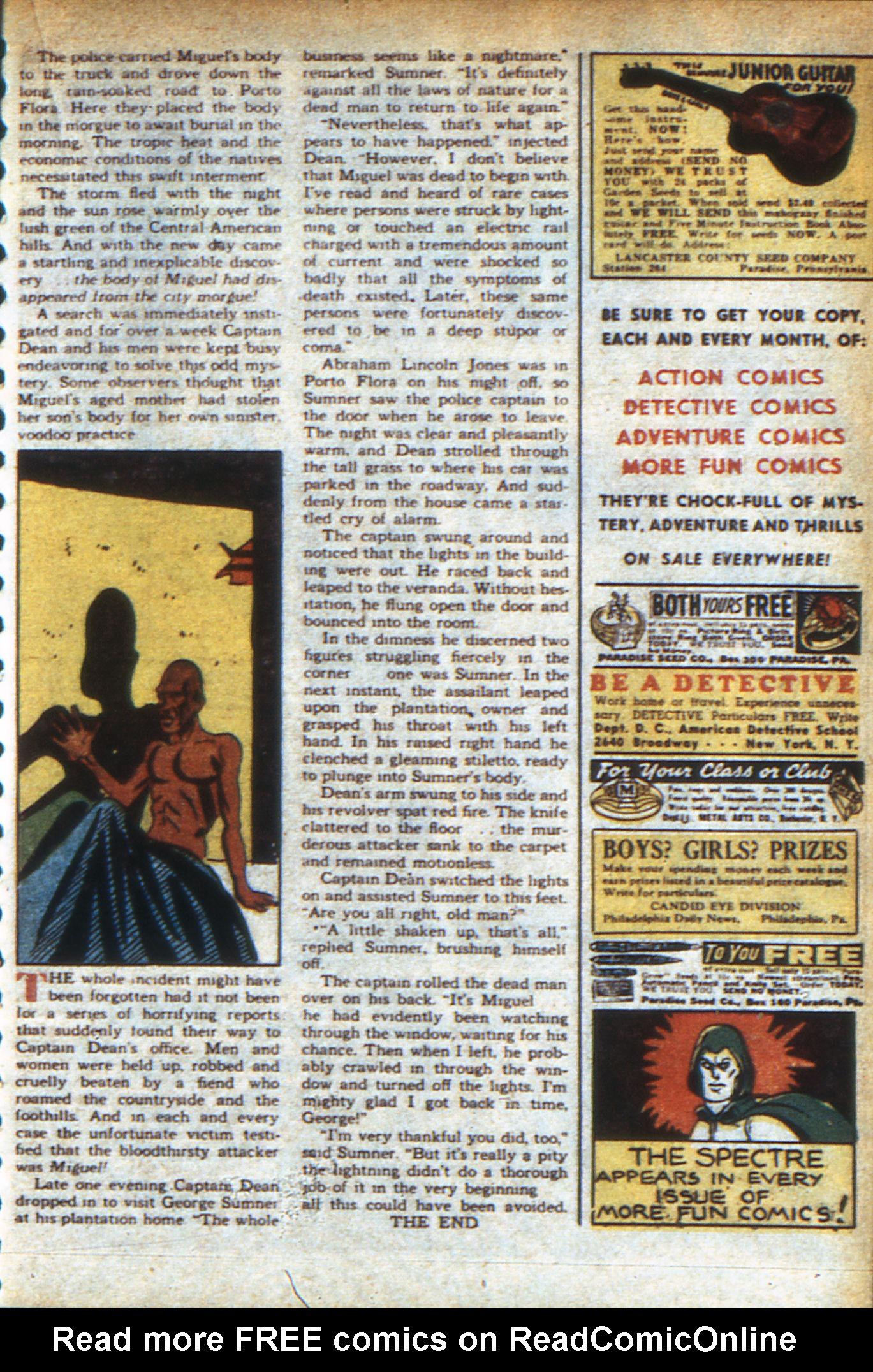 Read online Adventure Comics (1938) comic -  Issue #47 - 36