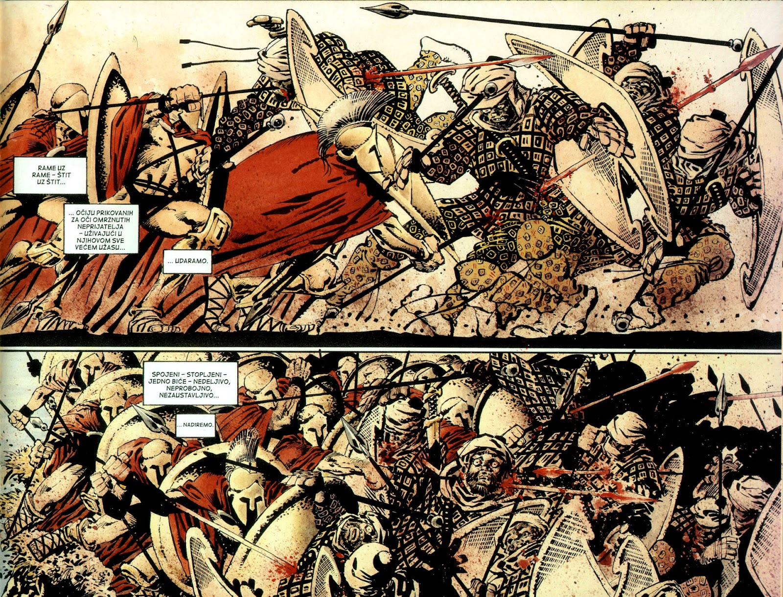 Read online 300 (2007) comic -  Issue # TPB - 50